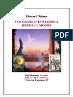 Schure Edouard - Hermes y Moises