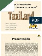Plan de Negocio TaxiLand SAC
