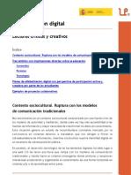 Alfabetización digital. Lectores críticos y creativos. Tíscar Lara