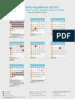 calendário unopar 2012