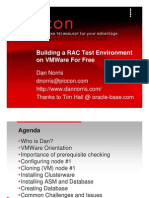 Building RAC test Environment on VMWare