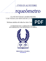 Saint Yves DAlveydre - Arqueometro 1