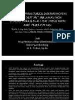 Kombinasi Parasetamol en Dengan Obat Anti