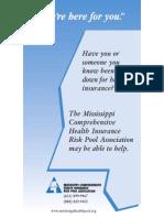 Mississippi State Risk Pool 2009