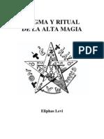 Levi Eliphas - Dogma y Ritual de Alta Magia