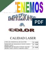 Calidad Laser