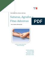 Suturas, agrafos e fitas adesivas (genética e biotecnologia)