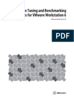 VMware Workstation 6 Performance Tuning and Bench Marking