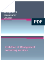 Management Consultancy-An Overview