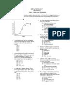 ap biology exam essay 1999