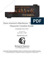 DA Blackmoor Character Creation Guide & Background 3.5