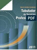 TabuladorAranceles2011 CMIC