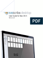 Live Scribe Desktop User Guide Mac