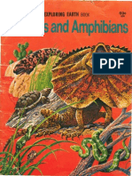 Reptiles and Amphibians - A Golden Exploring Earth Book
