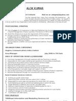 Alok Resume