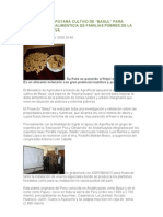 AGRORURAL APOYARÁ CULTIVO DE