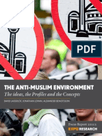 Expo Research -  The Anti-Muslim Environment 2011