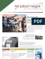 El pèsol negre nº43. Agost-setembre 2009