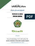 Wawasan Al-Quran Tentang Manusia PDF