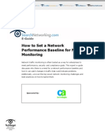 How to Set a Network Performance Baseline for Network Monitoring