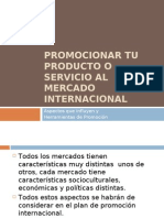El Marketing-Mix Internacional