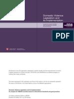 Domestic Violence Legislation