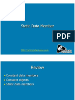 Computer Notes - Static Data Member