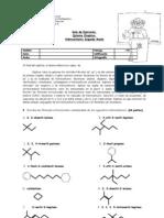 Guía  II Medio Nomenclatura Orgánica Química Rev