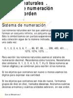 NÚMEROS NATURALES-SISTEMA DE NUMERACIÓN-DECIMAL Y ORDEN