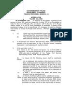 29 May 2009pay Commission Notification Punjab Govt Notification by Vijay Kumar Heer