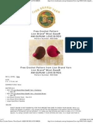 Amigurumi (crochet) birds - Album on Imgur | 396x298