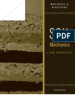 Soil Mechanics - Lab Manual