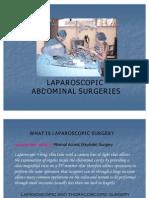 6234855 Laparoscopic Abdominal Surgeries