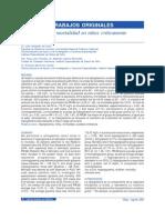 Hiperglicemia y mortalidad en niños críticamente