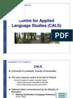 CALS Presentation