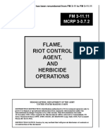 Flame, Riot Control Agent, And Herbicide Operations