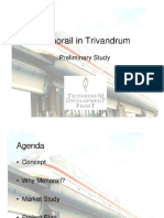 Feasibility Study for Monorail Kerela
