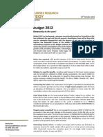 20111010 BIMBSec Strategy Budget 2012