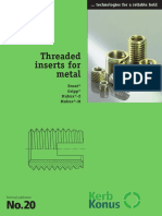 Thread Insert for Metals