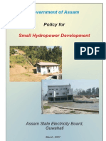 Policy for Small Hydro Power Development