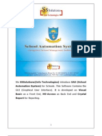 School Automation System User Manual