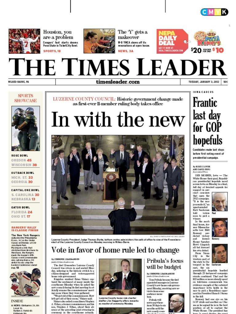 Times Leader 01 03 2012