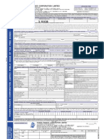 PFC Tax Free Bonds Application Form