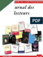 Journal des Lecteurs  19