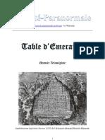 Table Emeraude