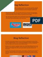 Blog Reflection
