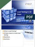 Load Testing in 10 Steps