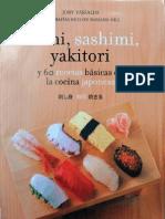 Sushi sashimi yakitori 60 recetas