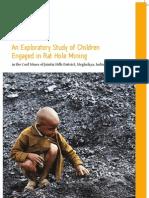 Rat Hole Mining Mining Report, Meghalaya
