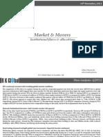 Market & Movers RKG Q2FY12